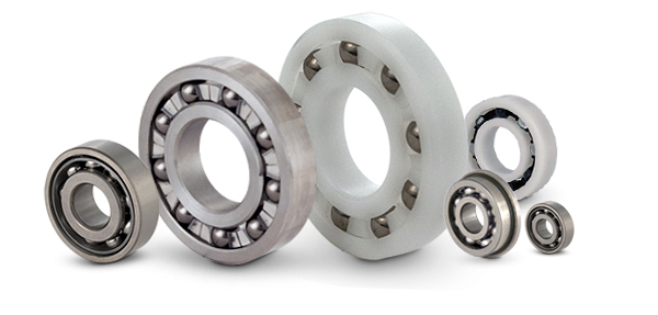 Miniature Instrument, Plastic, Radial, Angular and Single Row Type Ball Bearings