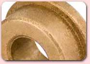 Sintered bronze sleeve bearings