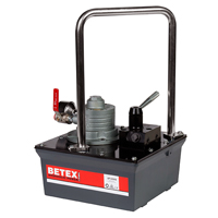 BETEX AP 8000 Series, Air-Hydraulic Foot Pumps, 700 Bar