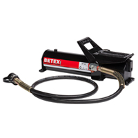 BETEX AP 921 Series, Air-Hydraulic Foot Pumps, 700 Bar