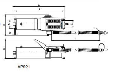 BETEX AP 921 Drawing