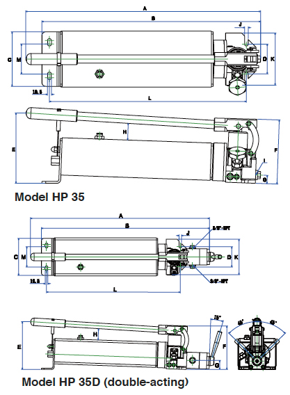 BETEX HP 35 Drawing