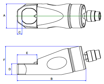 BETEX HNS Nut Splitters Drawing