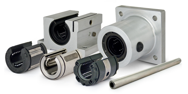 Linear Bearings, Shafting, Guides, Rails, Cams and Wheels