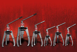 Hydraulic Pullers with Pump
