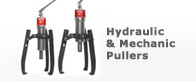 Mechanical and Hydraulic Pullers