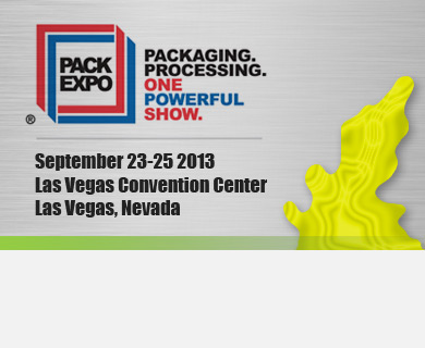 The world's largest packaging and processing event in 2013 delivers innovations to advance your business objectives. Visit us at Booth #S-5531