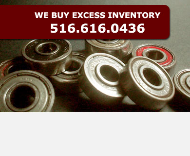 At qbc we will buy any bearings product that you may have purchased too much of. Please contact one of our sales representatives for details.